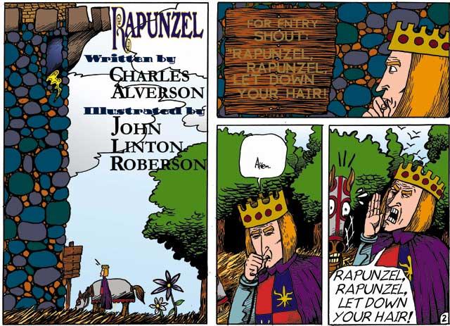 RAPUNZEL by Charles Alverson & John Linton Roberson (c)2003