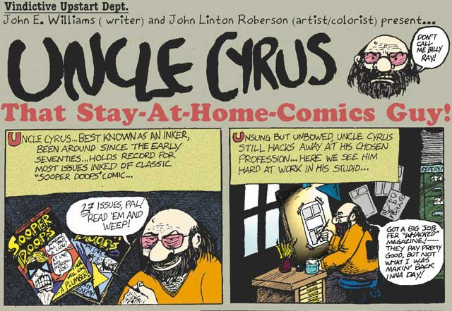 Uncle Cyrus 1 by John E. Williams & JLRoberson