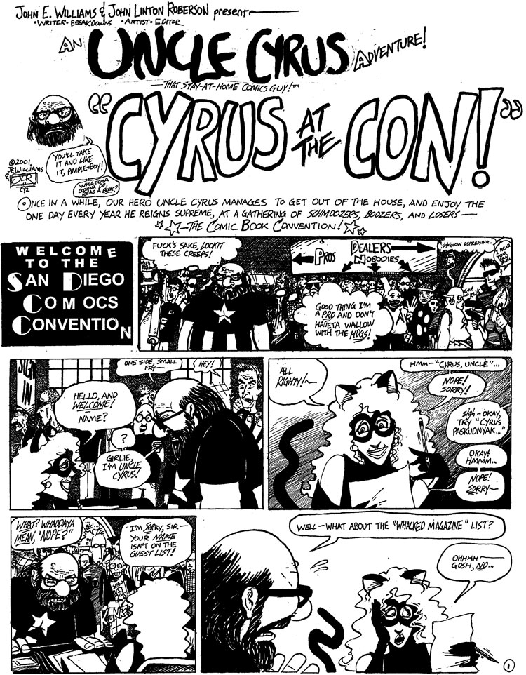 Uncle Cyrus 2 by John E. Williams & JLRoberson