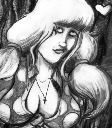 Suzy Spreadwell #1 (c)2018 John Linton Roberson. Get it now at Comixology Kindle & Google Play!