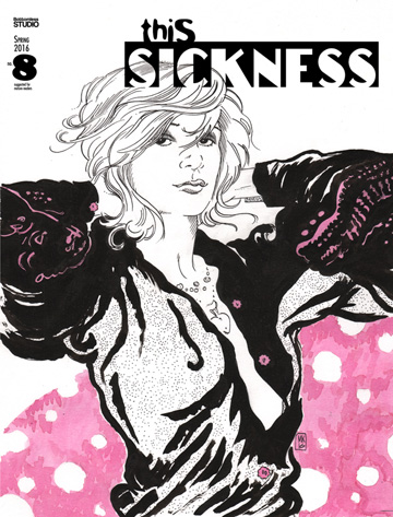 Suzy Spreadwell in THIS SICKNESS #8 at Amazon!