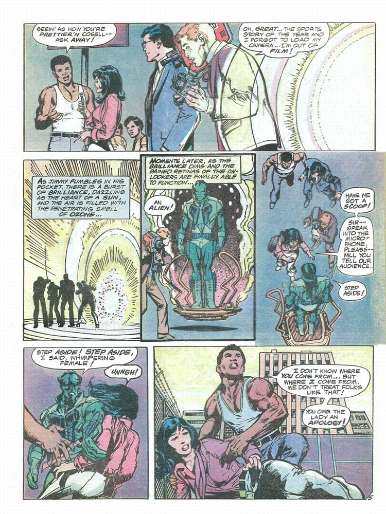 muhammad ali the superman Superman vs muhammad ali, who remembers this one not long after the seminal dc/marvel crossover in which superman teamed up with spider-man in 1976, boxing.